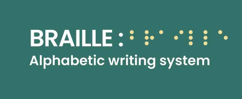 Braille อักษร
